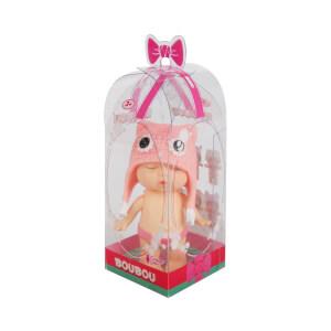 Boubou Yeni Doğan Şapkalı Bebek 8 cm.