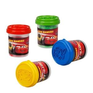 Fun Dough Cars 4'lü Oyun Hamuru