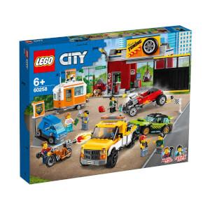LEGO City Nitro Wheels Oto Aksesuar Atölyesi 60258