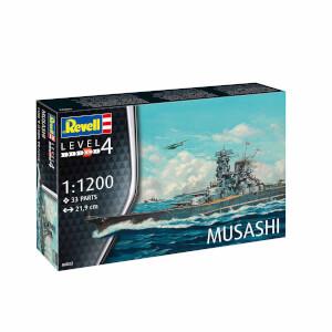 Revell 1:1200 Musashi Gemi Seti 06822