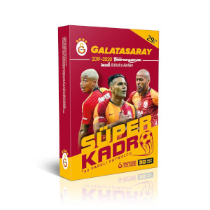 Galatasaray 2019-2020 Süper Kadro İmzalı Taraftar Kartları