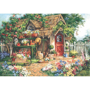 500 Parça Puzzle : Cennet Bahçesi