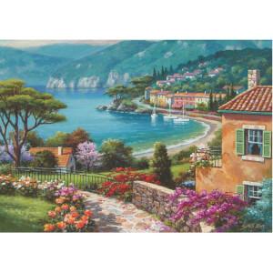 1500 Parça Puzzle : Göl Kıyısı