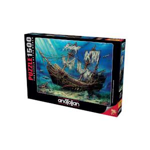 1500 Parça Puzzle : Batık Gemi