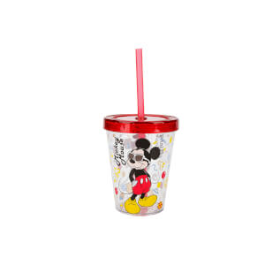 Mickey Mouse Pipetli Bardak 450 ml.