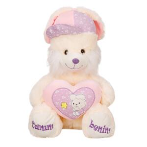 Şapkalı Oturan Peluş Tavşan 52 cm.