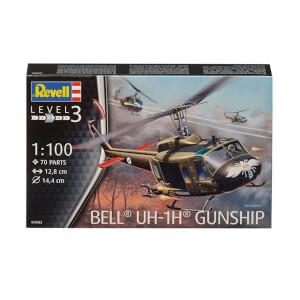 Revell 1:100 Bell UH-1H Gunship Helikopter 4983