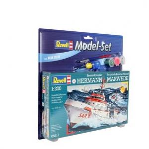 Revell 1:1200 Gemi DGZRS  Hermann Marw Kit Set