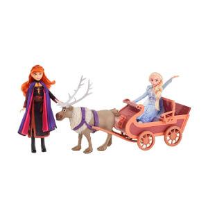 Disney Frozen 2 Elsa, Anna ve Sven Kızaklı Oyun Seti E5501