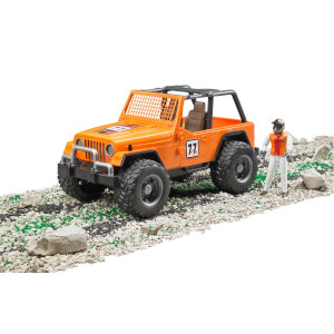1:16 Bruder Jeep Cross Safari Aracı ve Kasklı Pilot