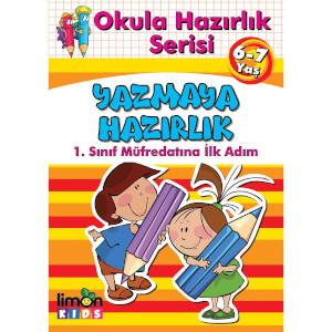 Okula Hazırlık Serisi Yazmaya Hazırlık 6-7 Yaş
