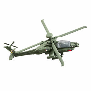 Revell 1:100 Build & Play Apache Helikopter 06453