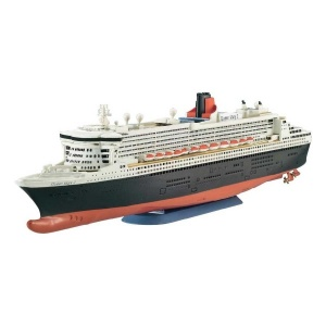 Revell 1:1200 Queen Mary 2 Model Set Gemi