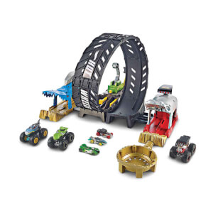 Hot Wheels Monster Trucks Efsane Çember Aksiyonu Oyun Seti GKY00
