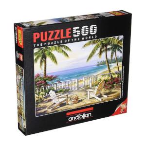 500 Parça Puzzle : Sahilde