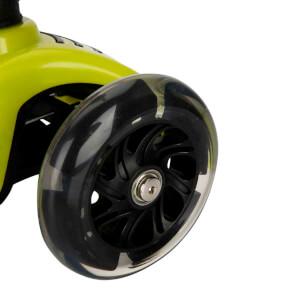 Pilsan Power 3 Tekerlekli Işıklı Scooter Yeşil