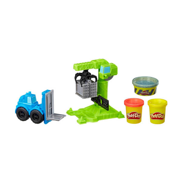 Play Doh Çalışkan Vinç ve Forklift