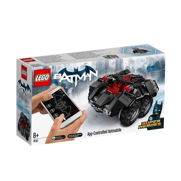 LEGO DC Comics Super Heroes AppControlled Batmobile 76112