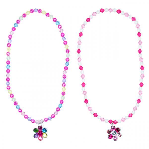 Pink Poppy Çiçek Kolye