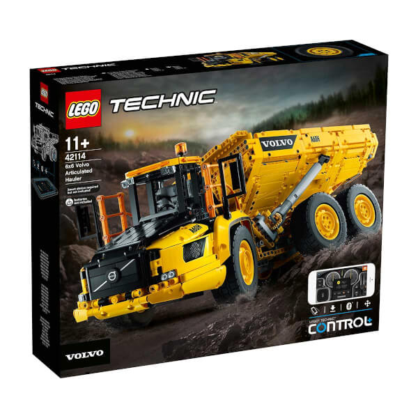 LEGO Technic  6x6 Volvo Mafsallı Kamyon 42114