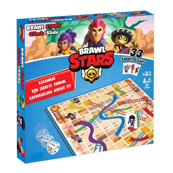 Brawl Stars Climb&Slide Oyunu