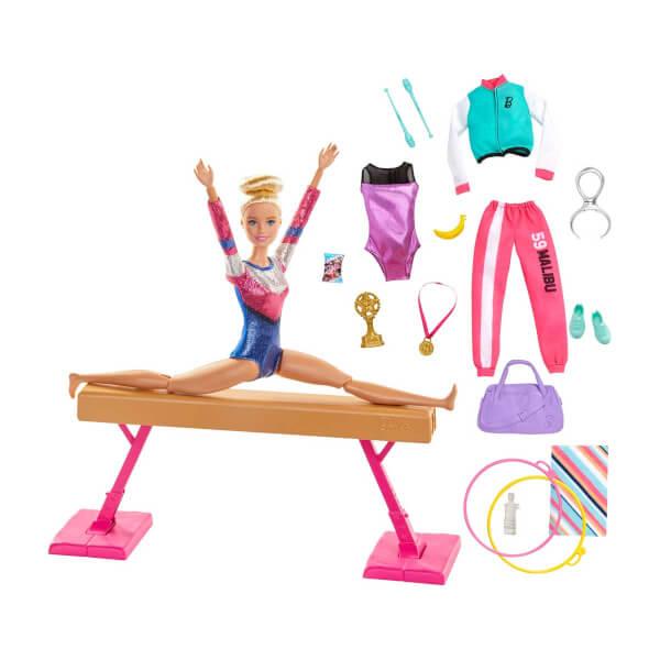 Barbie Jimnastik Oyun Seti GJM72
