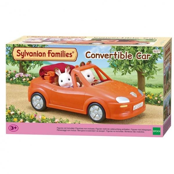 Sylvanian Families Üstü Açılabilen Sportif Araba
