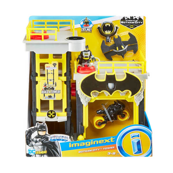 Imaginext DC Super Friends Gotham City Sokakları GDH30