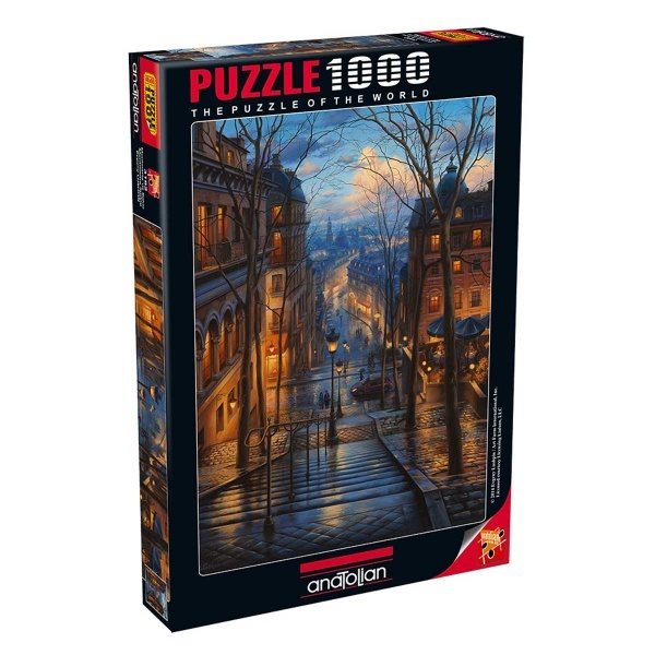1000 Parça Puzzle : Paris'te Bahar