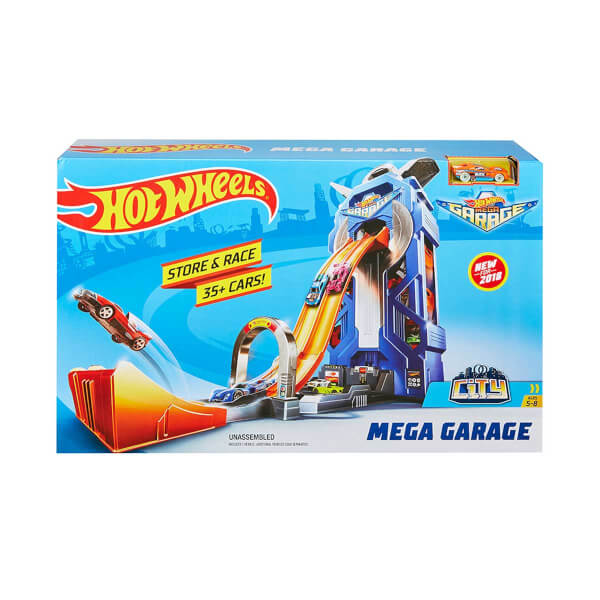 Hot Wheels Mega Garaj Kule Yarışı Seti FTB68