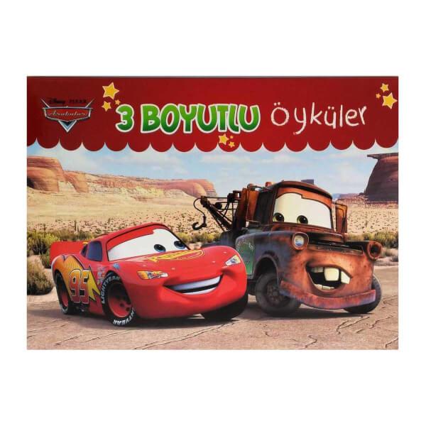 Disney Arabalar 3 Boyutlu Öyküler