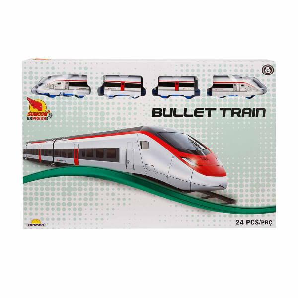 Bullet Tren Seti 24 Parça