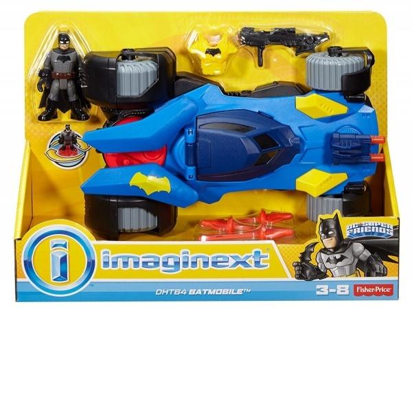 Imaginext DC Super Friends Deluxe Batmobile
