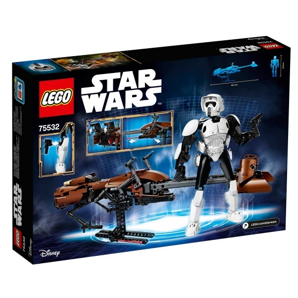 LEGO Star Wars Scout Trooper ve Speeder Motosikleti 75532