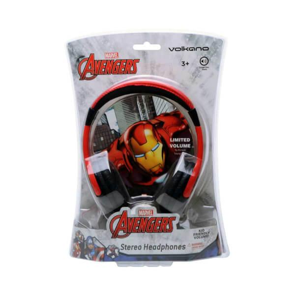 Marvel Avengers Iron Man Kulak Üstü Çocuk Kulaklık