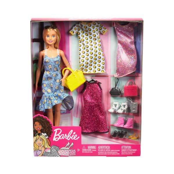 Barbie'nin Kıyafet Kombinleri Oyun Seti GDJ40