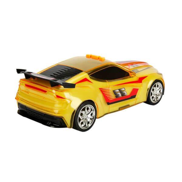 Teamsterz Sesli ve Işıklı Renk Değiştiren Araba Sarı 27 cm.