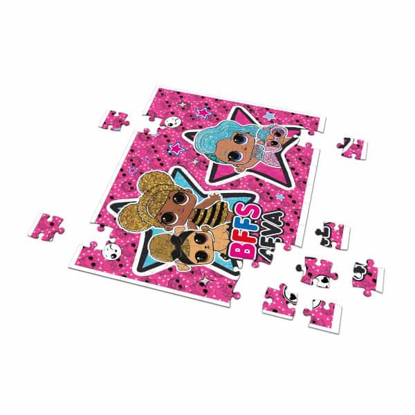 60 + 35 Parça Puzzle: L.O.L