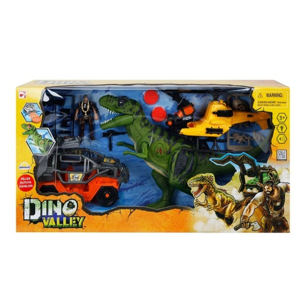 Dino Valley T-Rex Attack Oyun Seti