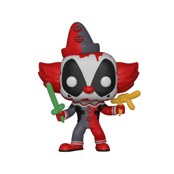 Funko Pop Marvel Deadpool: Clown Deadpool Figür