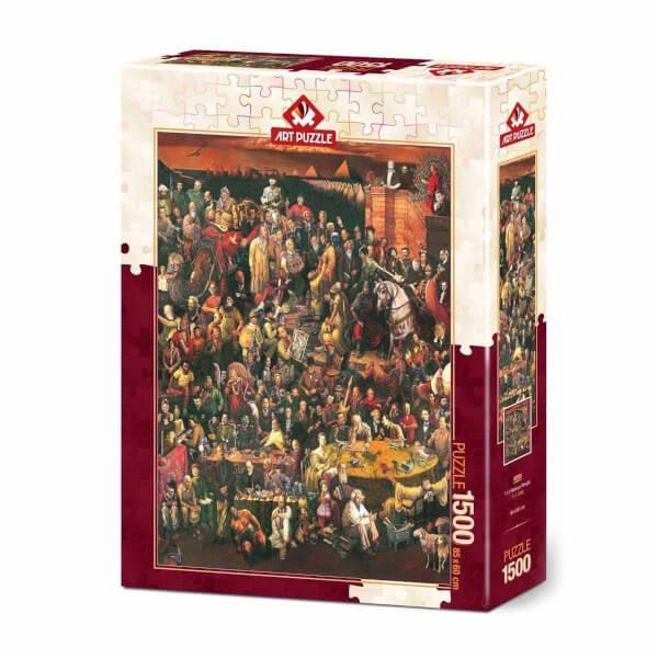 1500 Parça Puzzle : 113 Ünlü