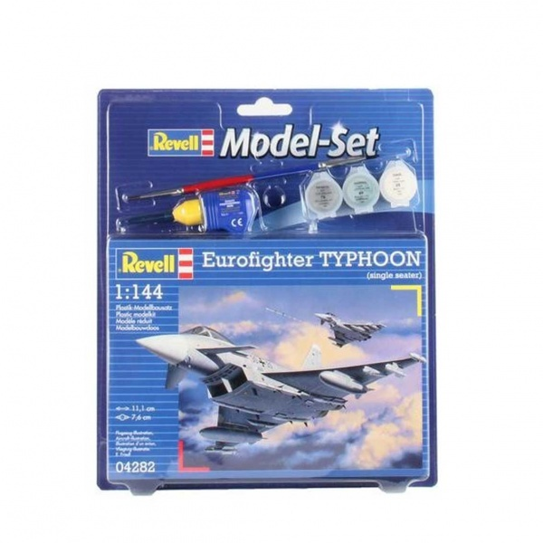 Revell 1:144 EU.Fighter Typhoon Model Set Uçak