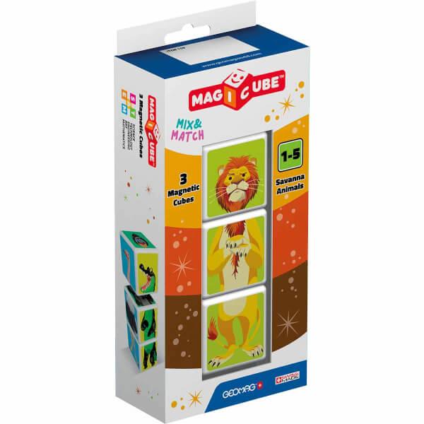 Geomag Magicube Mix&Match Orman Hayvanları 3 Parça