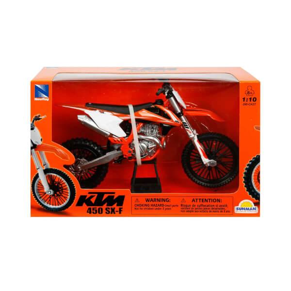 1:10 450 SX-F 2010 KTM Model Motor