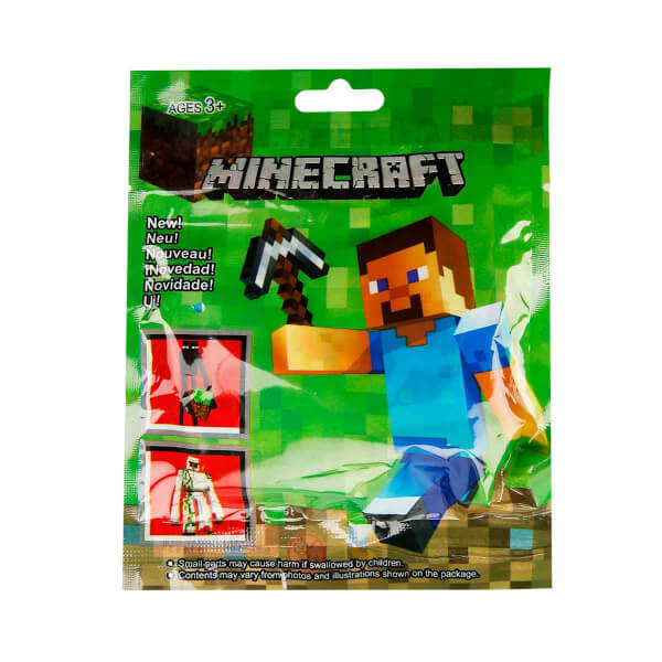 Minecraft Anahtarlık ve Oyun Kartı Sürpriz Paket