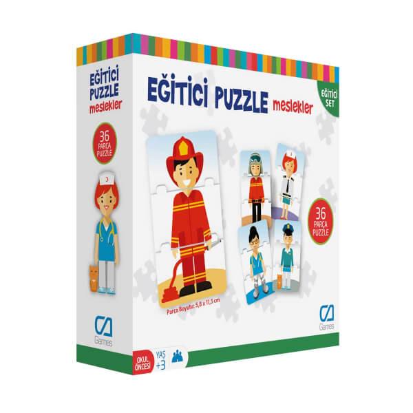 Eğitici Puzzle Meslekler 36 Parça