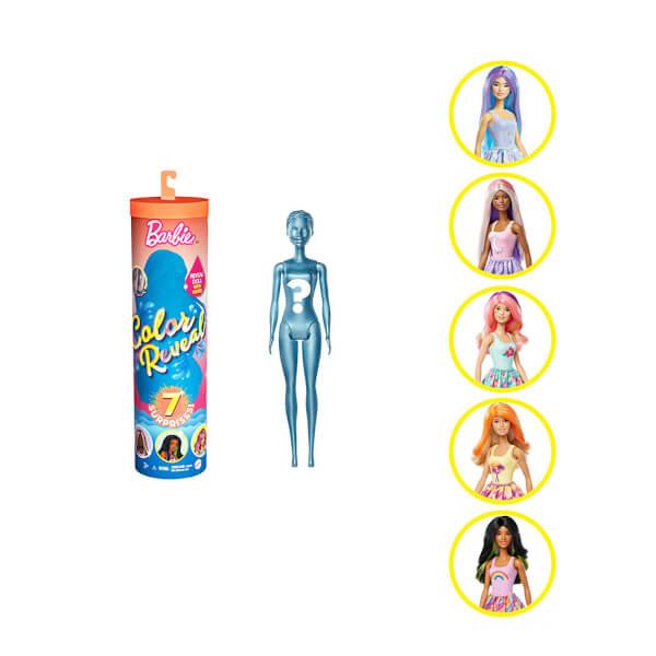 Barbie Color Reveal Renk Değiştiren Sürpriz Bebekler S3