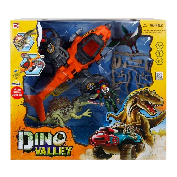 Dino Valley Roughneck Bigwheel Dinozor Oyun Seti