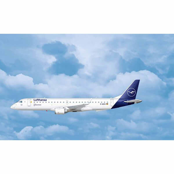 Revell 1:144 Embraer 190 Lufthansa New Livery Uçak 03883