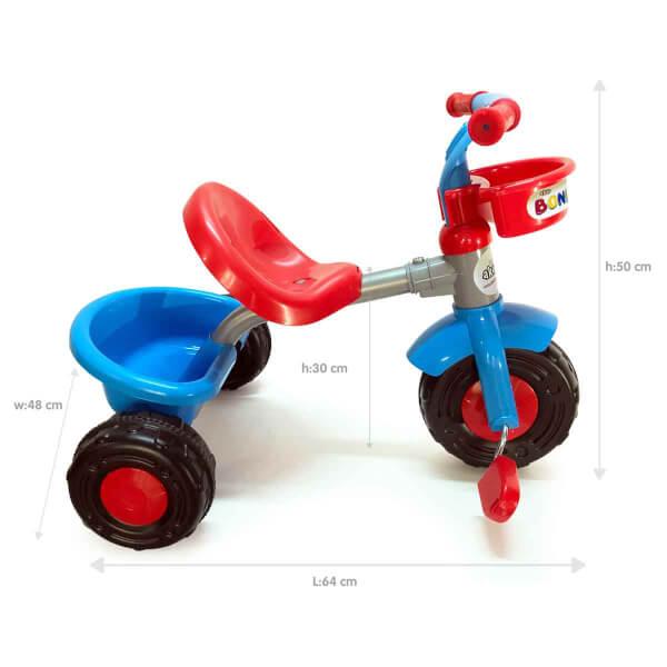 Boni Bike 3 Tekerlekli Kırmızı Bisiklet 93345